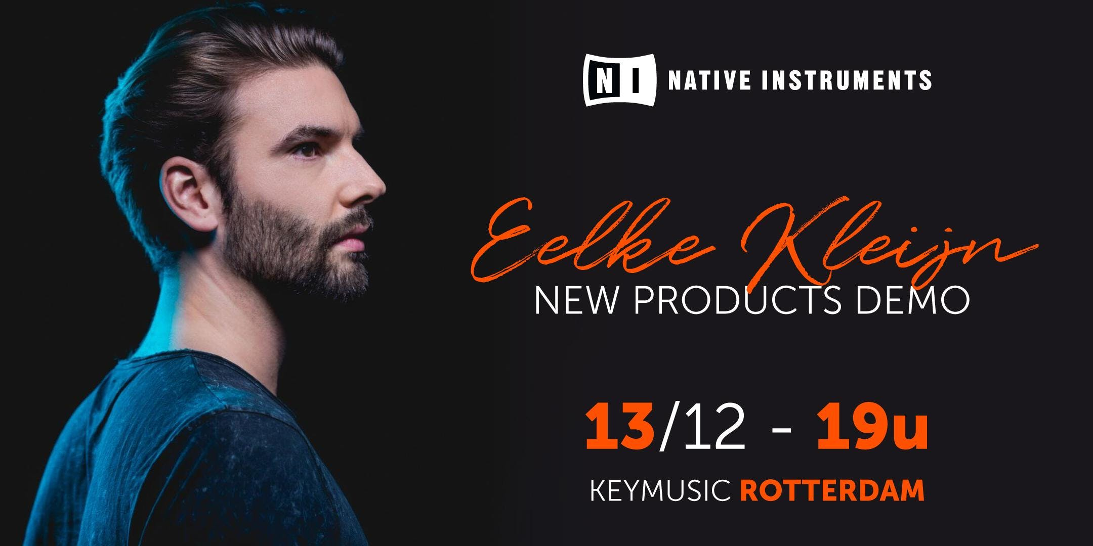Eelke Kleijn Native Instruments demo KEYMUSIC