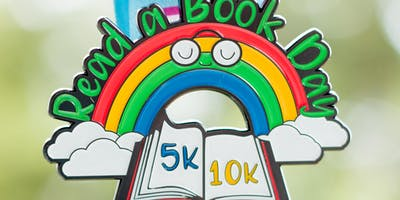 Now Only $10! Read a Book Day 5K & 10K - Take a Look, It\