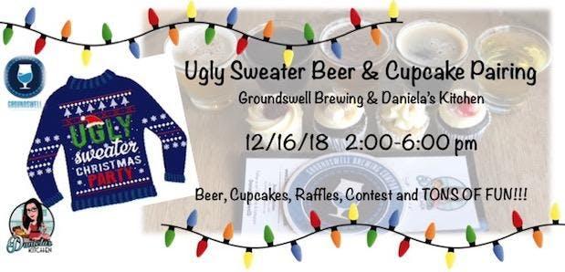 Ugly Sweater Beer & Cupcake Pairing