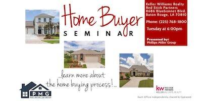 Home Buyer Seminar--March 19th