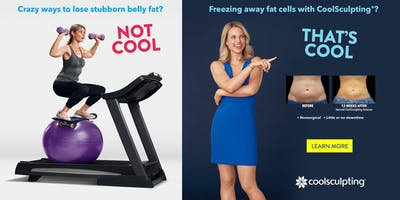 Freezing Away Stubborn Fat with COOLSCULPTING!  That's Cool!!
