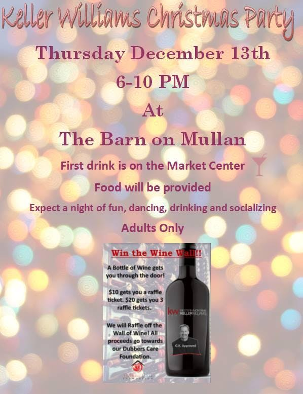 Keller Williams Christmas Party!