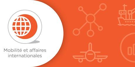 Petit-Déjeuners: Ateliers logistiques et Douanes tickets