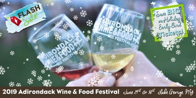Adirondack Wine and Food Festival 2019