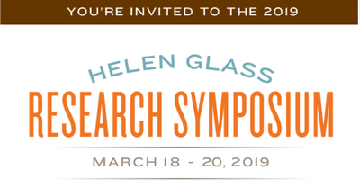 Helen Glass Research Symposium - Public Lecture