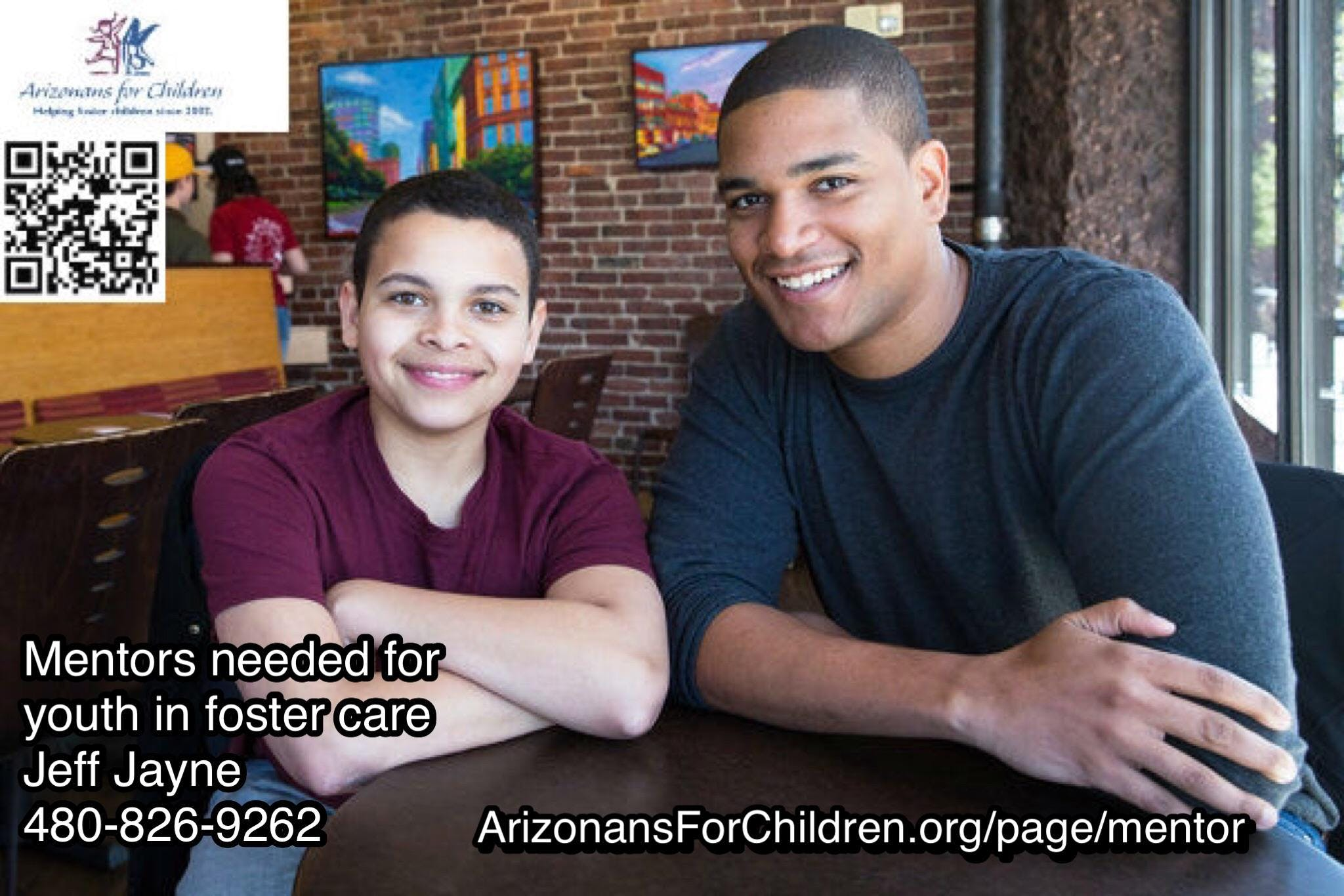 Be a mentor for a foster child