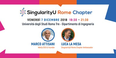 SingularityU Rome Chapter - Evento dicembre 2018