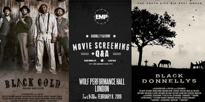 Black Gold & Black Donnellys Double Feature + Q&A