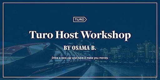 Turo New Host Workshop