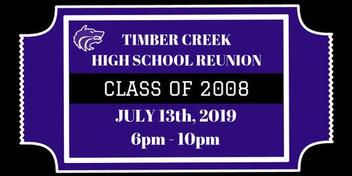 Timber Creek High School Reunion for the Class of 2008