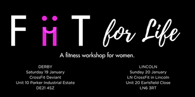 FiiT for Life! An Introduction to Fitness for Women `(Derby)