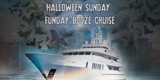 Halloween Sunday Funday Booze Cruise on October 27th