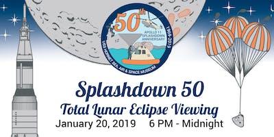 Apollo Splashdown 50 - Eclipse Viewing