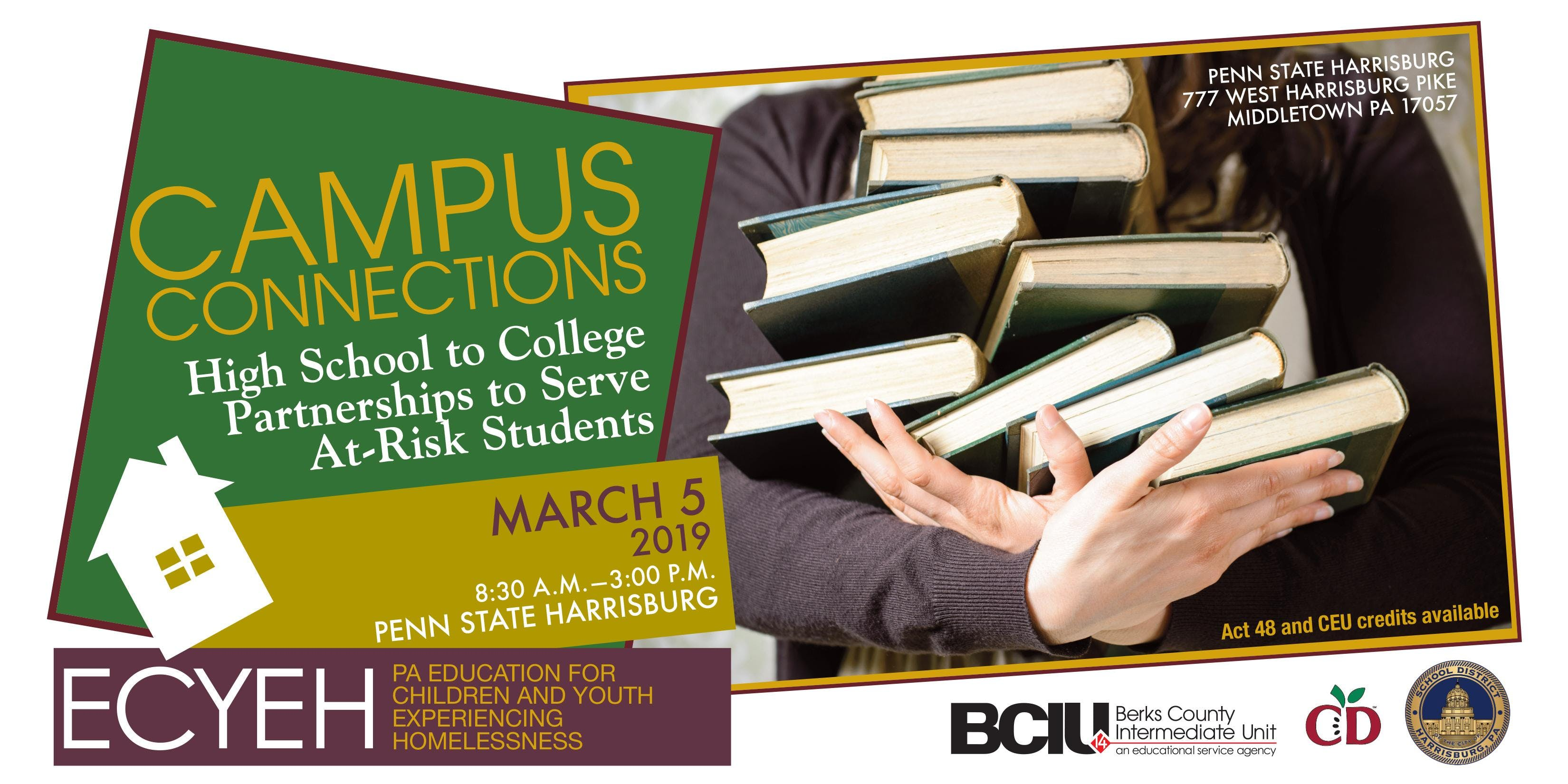 Campus Connections High School To College Partnerships To Serve At