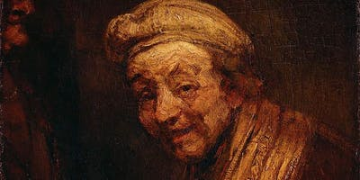 Rembrandt Self-Portrait as Zeuxis Laughing