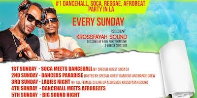 FAYAH SUNDAYS - NO.1 DANCEHALL REGGAE SOCA PARTY IN HOLLYWOOD LOS ANGELES
