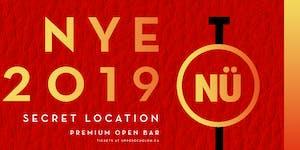 NÜ The Premium Open Bar | NYE 2019