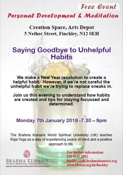 saying goodbye to unhelpful habits 7 jan 2019
