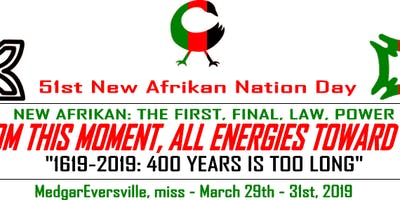 New Afrikan Nation Day 2019