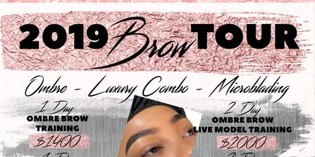 iBrow Flavor Microshading / Ombre and Microblading Brow Training Tour - Los Angeles (LA) tickets