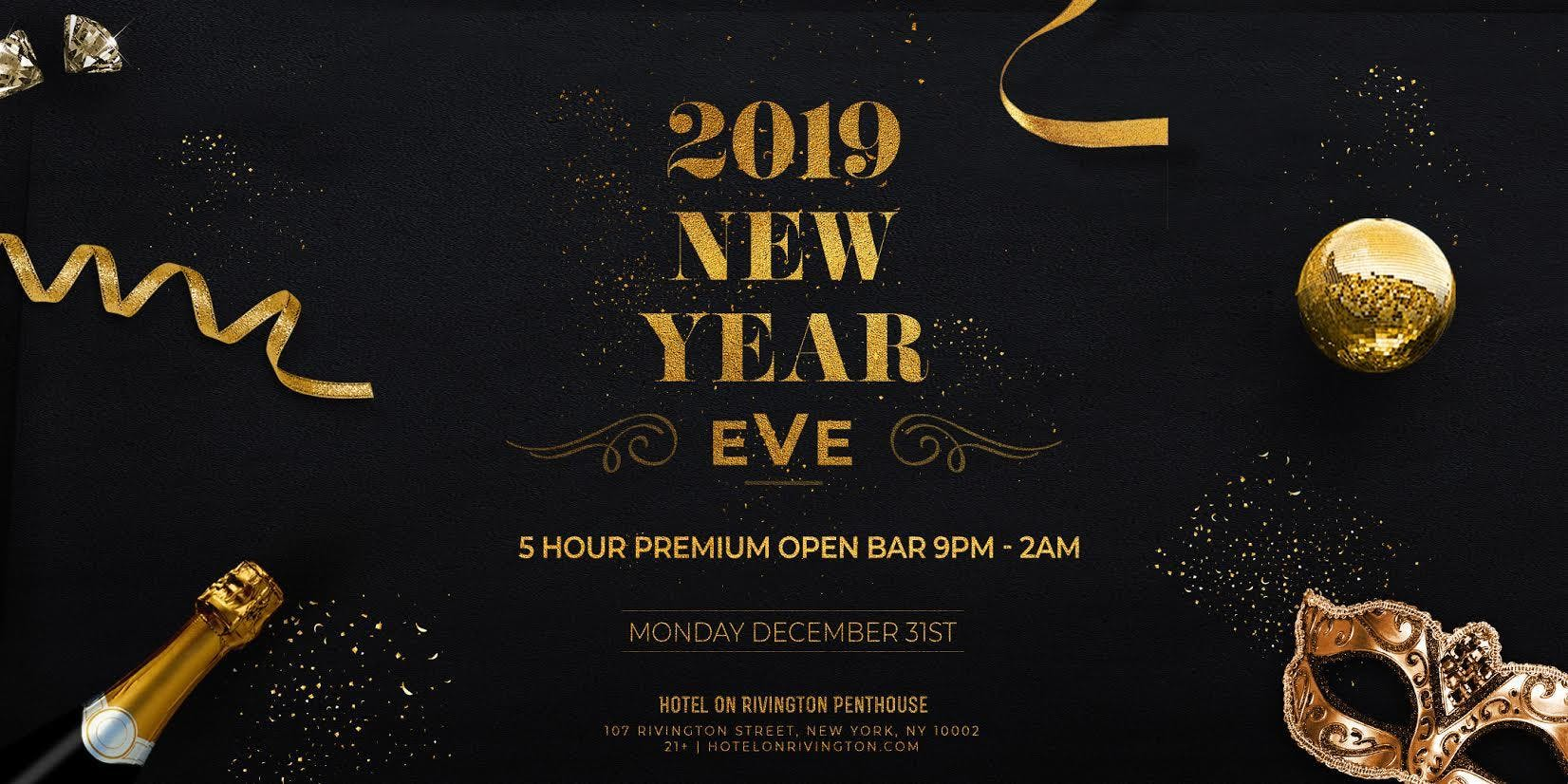 The Penthouse at Hotel on Rivington NYE 2019