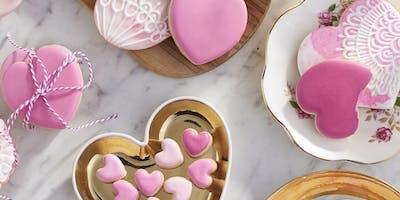 Lovely Little Valentines Cookie Decorating Workshop