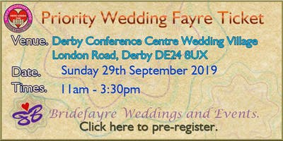 The Big Derby Conference Centre Summer Wedding Fayre