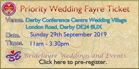 The Big Derby Conference Centre Summer Wedding Fayre  tickets