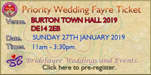 The 2019 Burton Autumn Classic Wedding Fayre