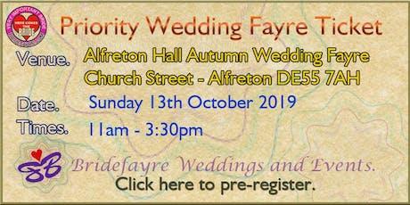 The big Alfreton Hall Autumn Wedding Special tickets