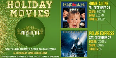 Home Alone (Holiday Movie Showing)