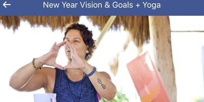 New Years Vision and Goals + Yoga