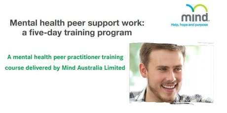 Mental health peer support work: a five day training program tickets