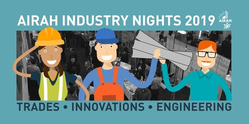 AIRAH Industry Night – Central Sydney [NSW]