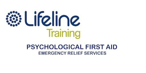 Lifeline Psychological First Aid (PFA) 1-day Training Workshop Ipswich