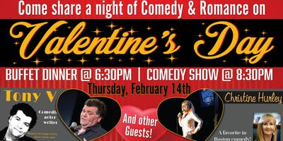 A Night of Comedy & Romance with Tony V & Christine Hurley