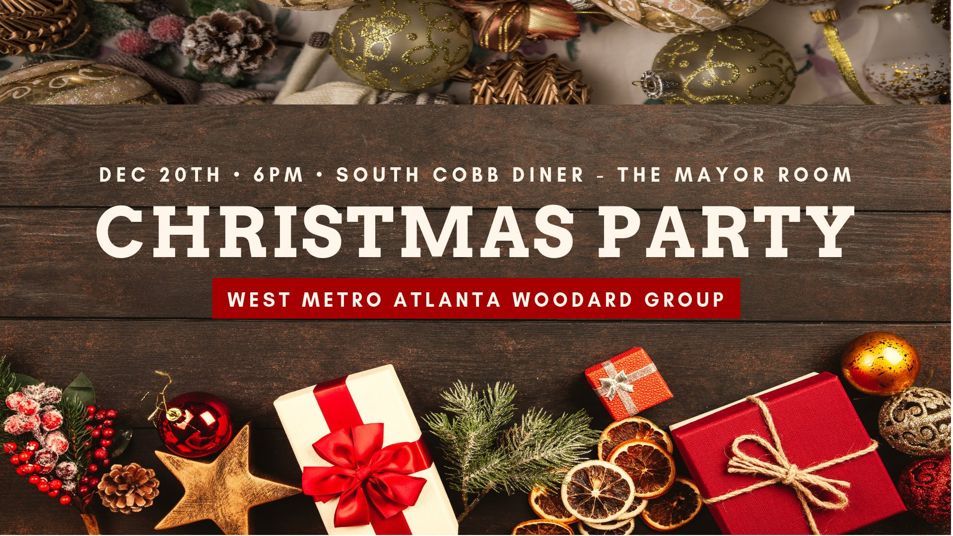 West Metro Atlanta Woodard Group Christmas Party - 24 JAN 2019