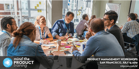 Mind the Product San Francisco 2019 Workshops tickets