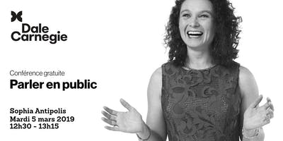 Parler en public - Conférence à Sophia Antipolis