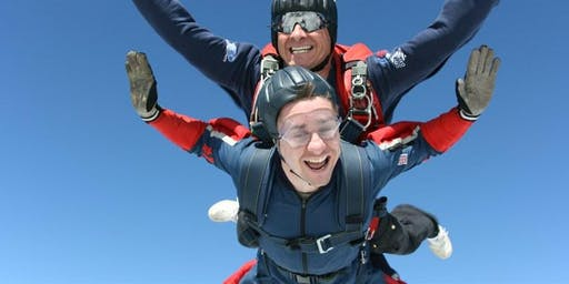 Tandem Sky Dive - Jump for Noah's Ark Children's Hospice