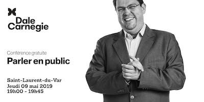 Parler en public - Conférence à Saint-Laurent-du-Var