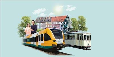ODEG Sonderfahrt Deluxe: Berlin - Freyburg - Erfurt - Halle - Berlin