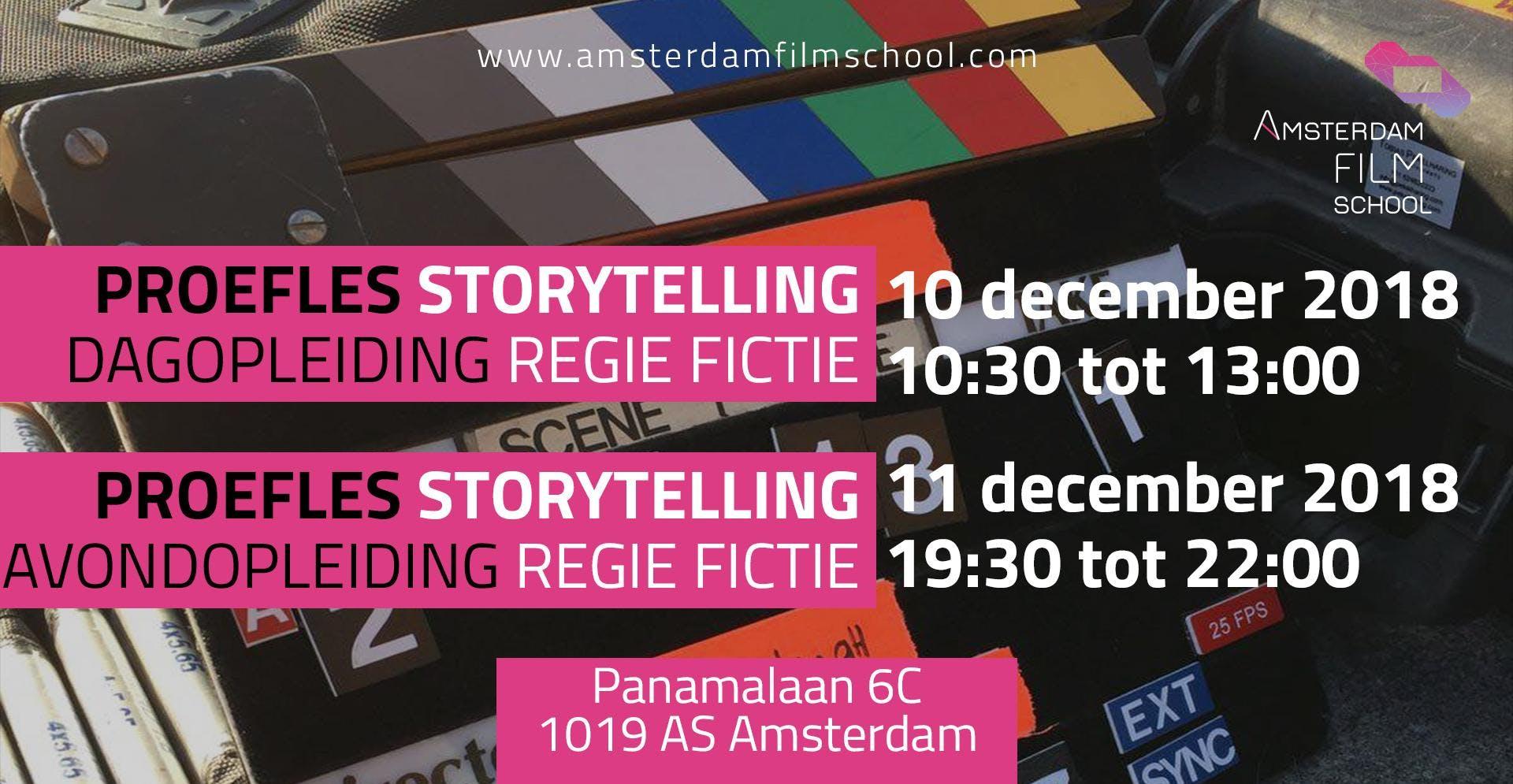 Proefles Storytelling - Regie Fictie