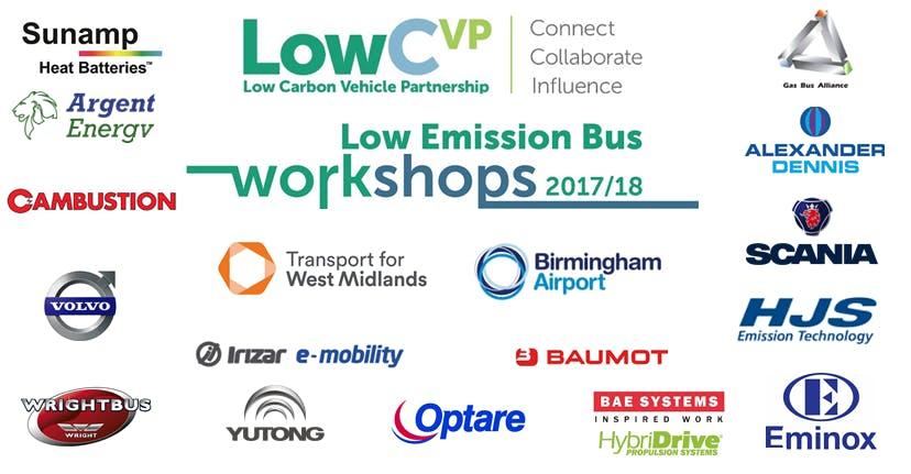 Low Emission Bus Workshop Birmingham