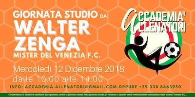 Giornata studio da Mister Walter Zenga presso il Venezia FC