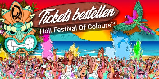 HOLI FESTIVAL OF COLOURS MANNHEIM 2019