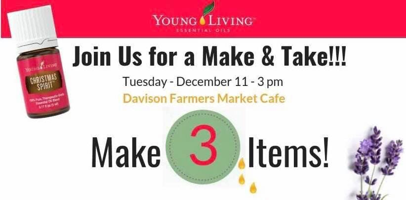 Davison Farmers Market Make & Take