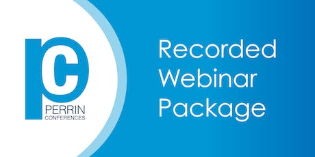 RECORDED WEBINAR AUDIO PACKAGE - Sports Concussion Litigation- Latest NCAA and High School Research, Developments and Findings tickets