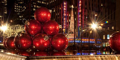CHRISTMAS IN NYC EXPERIENCE,  December 13th - December 15th, 2019