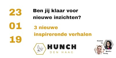 Get inspired, get your #HUNCH